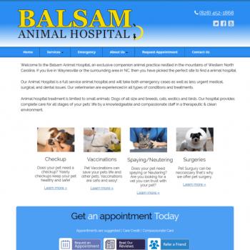 Balsam Animal Hospital