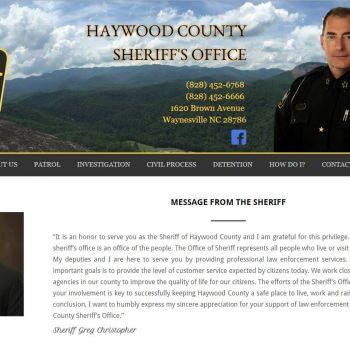Haywood Sheriff Office