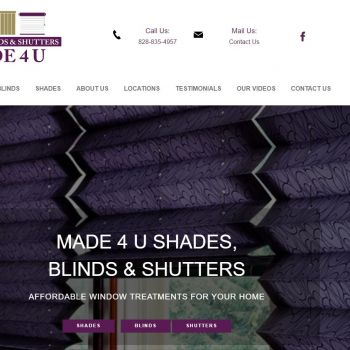 Made 4 U Shades Blinds & Shutters