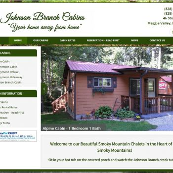 Maggie Valley Cabin Rentals - Johnson Branch Cabins