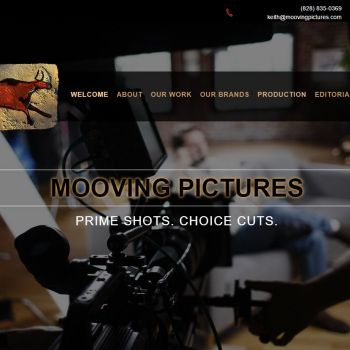 Website Design for Film Production